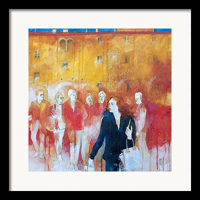 Sienna Italy Framed Prints