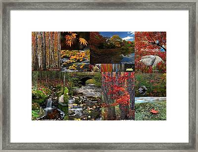 Incredible New England Fall Foliage Photography Framed Print by Juergen Roth
