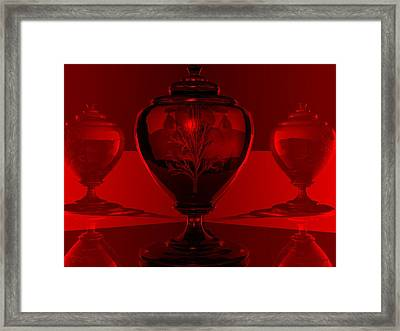 Framed Print featuring the digital art Incubation by John Pangia