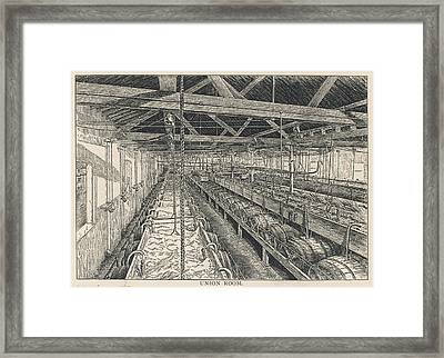 Ind Coope Brewery, Burton Framed Print by Mary Evans Picture Library