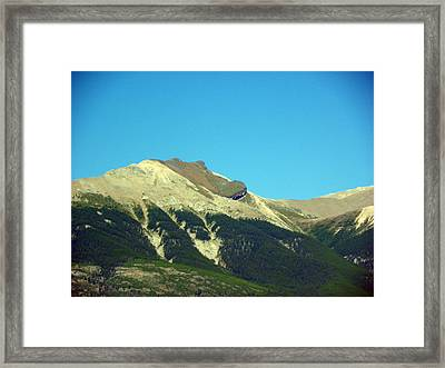 Indain Chief At Rest Framed Print