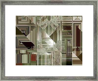 Framed Print featuring the painting Indecision I by RC deWinter