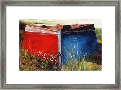Indecision Framed Print by Lorraine LaVista