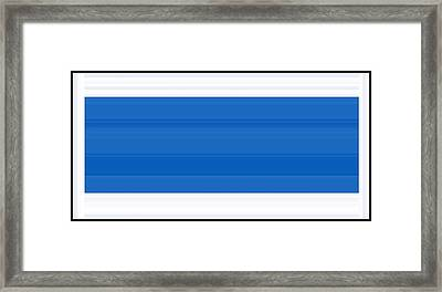 Indefinite Defined Framed Print by Cletis Stump