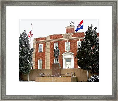 Independence Courthouse Framed Print