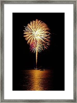 Independence Day Framed Print by George Buxbaum