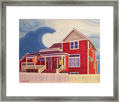 Independence Day Framed Print by Ruth Soller