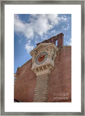 Independence Hall Clock Framed Print