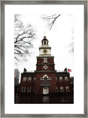 Independence Hall Philadelphia Framed Print by Bill Cannon