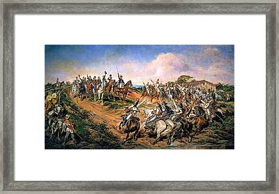 Independence Of Brazil Framed Print by Pedro Americo
