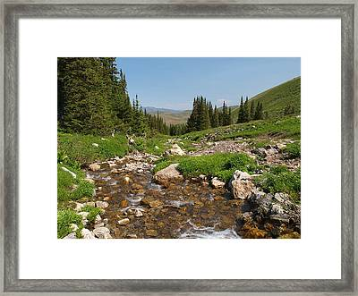 Framed Print featuring the photograph Independence Range by Jenessa Rahn