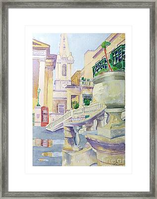 Independence Square Framed Print