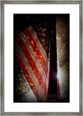 Independence Framed Print by Terri K Designs