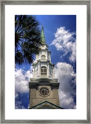 Independent Presbyterian Church Steeple Framed Print