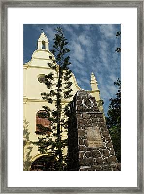 India, Cochin St Francis Csi Church Framed Print by Cindy Miller Hopkins