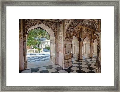 India, Dehradun A Sikh Temple Built Framed Print by Charles O. Cecil