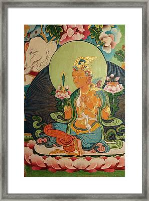 India, Himachal Pradesh, Dhauladhar Framed Print