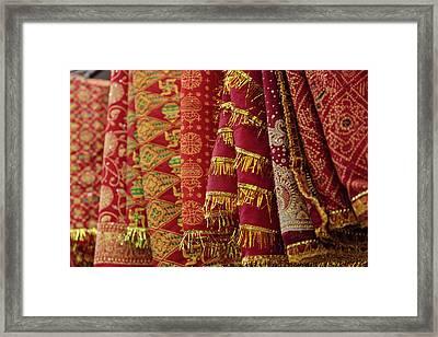 India, Himachal Pradesh, Una District Framed Print