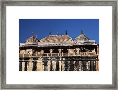 India Jaipur Jaipur City Palace Framed Print