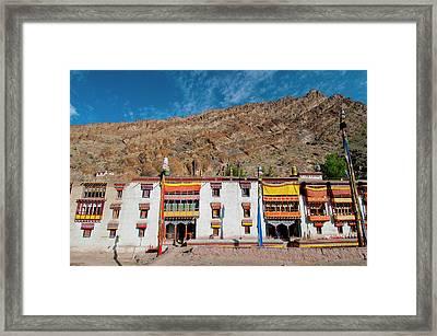 India, Jammu & Kashmir, Ladakh, Hemis Framed Print