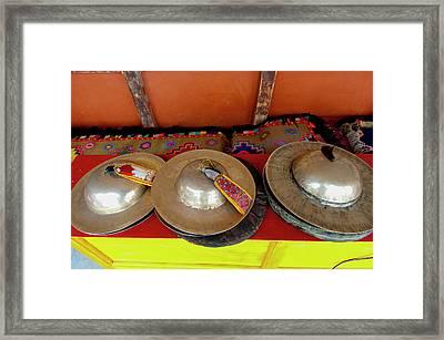 India, Jammu & Kashmir, Ladakh, Three Framed Print by Ellen Clark