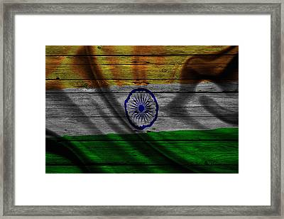 India Framed Print by Joe Hamilton