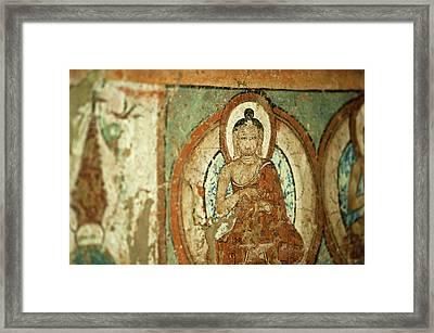 India, Ladakh, Alchi, Buddhist Wall Framed Print