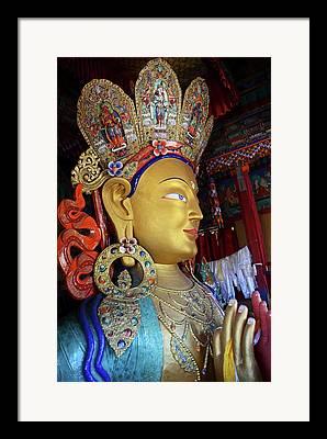 Maitreya Framed Prints