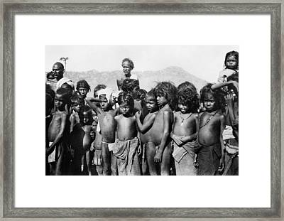 India Malaria, C1929 Framed Print by Granger