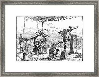 India Observatory, 1871 Framed Print by Granger