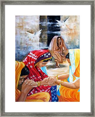 India Rising -- The Found Framed Print