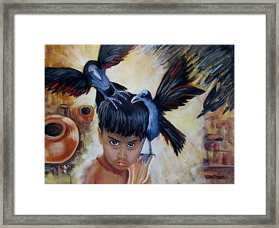 India Rising -- The Lost Framed Print