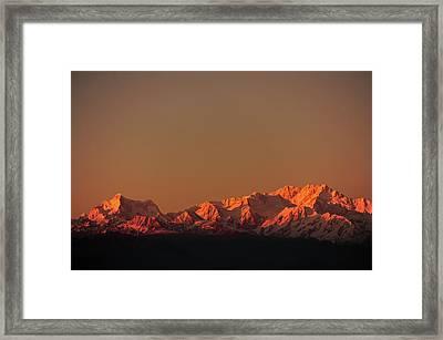 India, West Bengal, Singalila National Framed Print