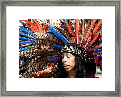 Indian Framed Print by Admir Gorcevic