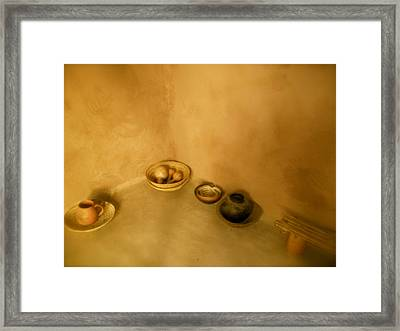 Indian Art Work Framed Print by Kimberly Banks