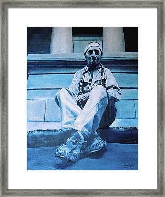 The American Framed Print by Schwartz