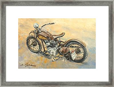 Indian Chief 1938 Framed Print