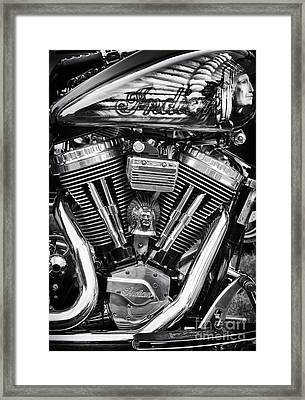Indian Chief  Framed Print