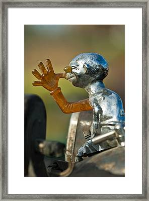 Indian Chopper Ornament Framed Print by Jill Reger