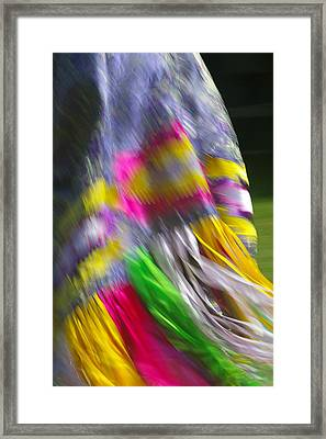 Indian Dance Framed Print