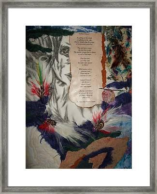 Indian Dancer Framed Print