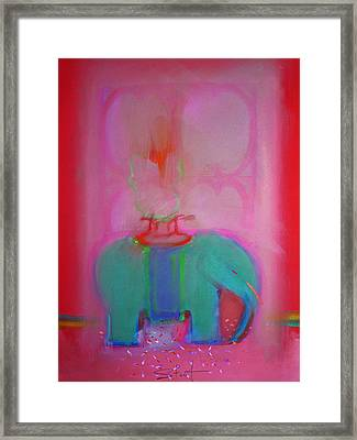 Indian Elephant Framed Print