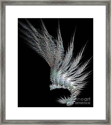 Indian Feather Head Dress Framed Print by Gail Matthews