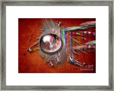 Indian Glass Balls Framed Print