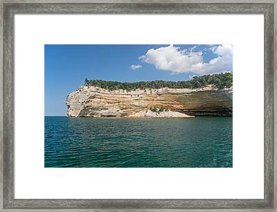 Indian Head Framed Print