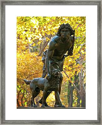 Indian Hunter Framed Print