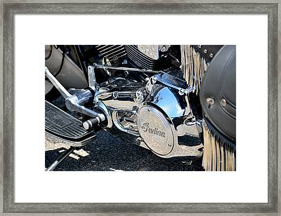 Indian Framed Print by Keith  Ziegman