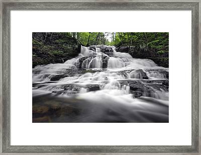 Indian Ladder Falls Framed Print