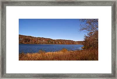 Indian Lake Framed Print by Sandy Keeton