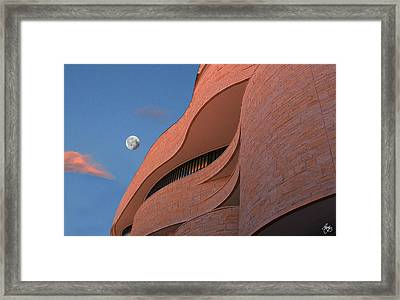 Indian Moonscape Framed Print by Wayne King